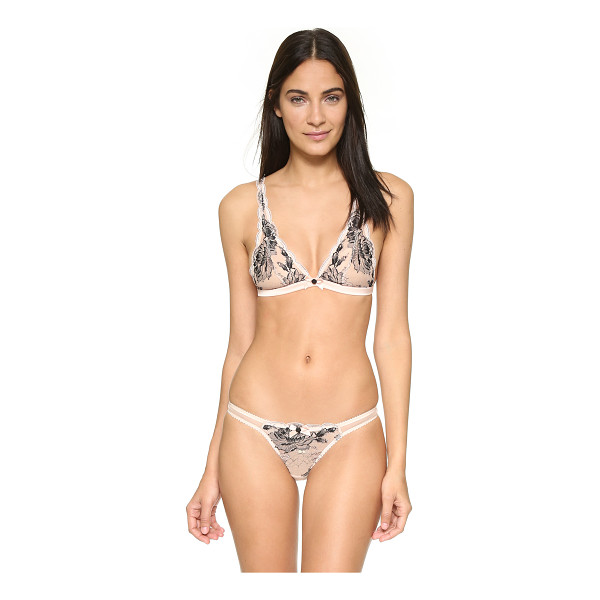 L'AGENT BY AGENT PROVOCATEUR Dani soft cup bra - A L'Agent by Agent Provocateur bralette in sheer mesh and...