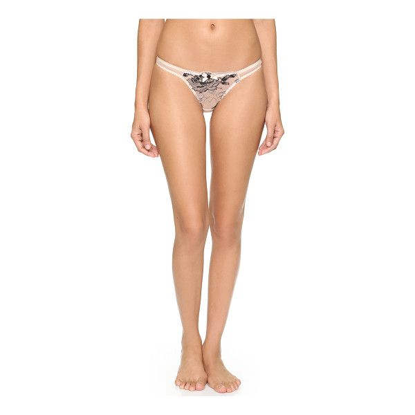 L'AGENT BY AGENT PROVOCATEUR Dani thong - Sheer mesh and lace compose this L'Agent by Agent...