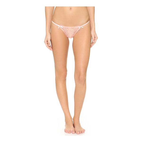 L'AGENT BY AGENT PROVOCATEUR Grace trixie thong - From Agent Provocateur's design collaboration with Monica...