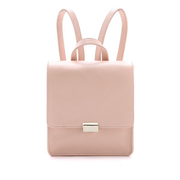 LAUREN MERKIN HANDBAGS Chloe backpack - A minimalist Lauren Merkin Handbags leather backpack with a