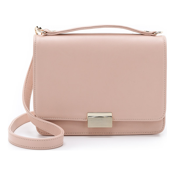 LAUREN MERKIN HANDBAGS Taylor satchel - A sleek Lauren Merkin Handbags bag in smooth leather. Push