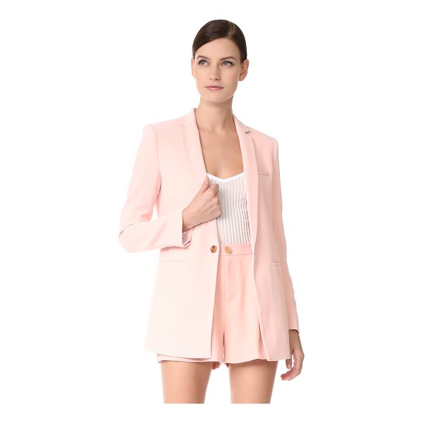 LAVEER boyfriend blazer - A polished LAVEER blazer with a relaxed silhouette. Notched...