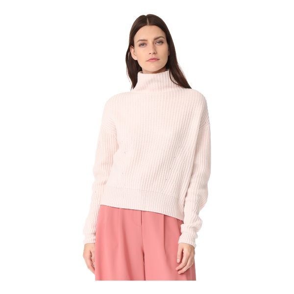 LE KASHA mock neck cashmere sweater - This slouchy cashmere Le Kasha sweater has a mock neckline...