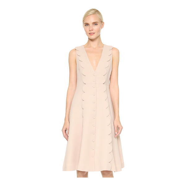 LEUR LOGETTE Triple cloth dress - A smart Leur Logette dress with a touch of charm. Scalloped...