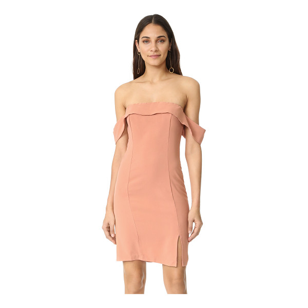 LINE & DOT lopez dress - An off-center slit relaxes the fit of this strapless Line &...
