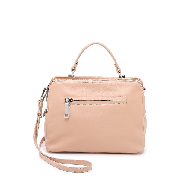 LINEA PELLE Eden medium satchel - Soft leather brings a luxe feel to this mid sized Linea