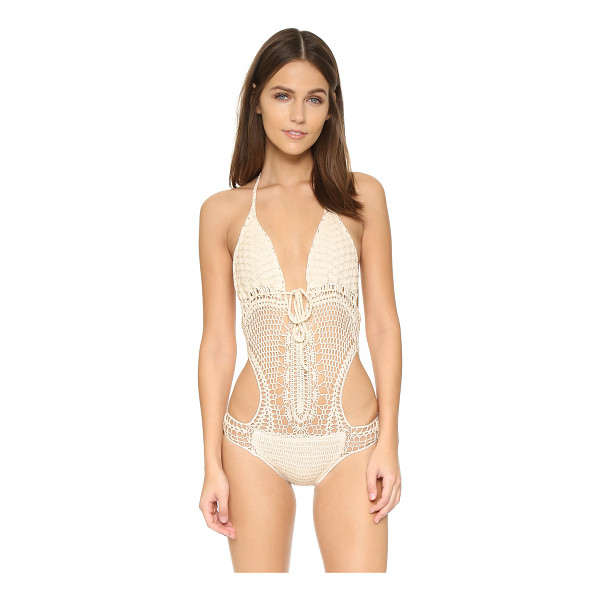 LISA MAREE Down the garden path swimsuit - A free spirited Lisa Maree one piece composed of soft...