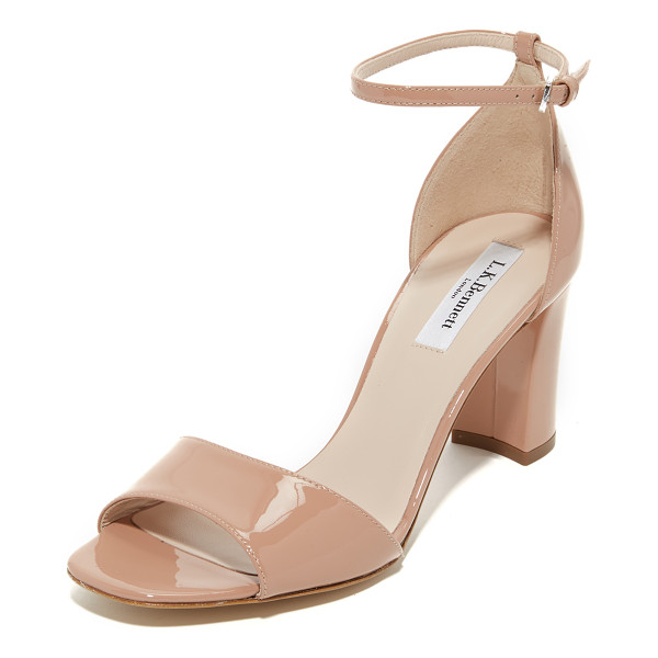 L.K. BENNETT helena sandals - Versatile L.K. Bennett sandals in glossy, patent leather....