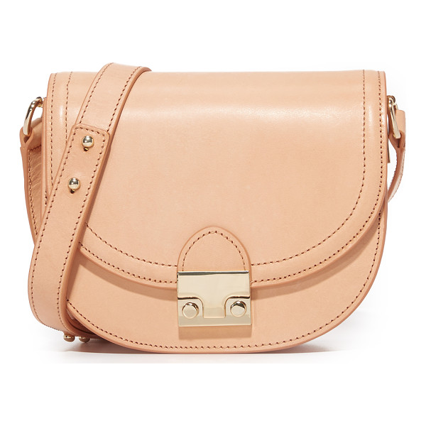 LOEFFLER RANDALL saddle bag - A simple Loeffler Randall cross-body bag in smooth leather.