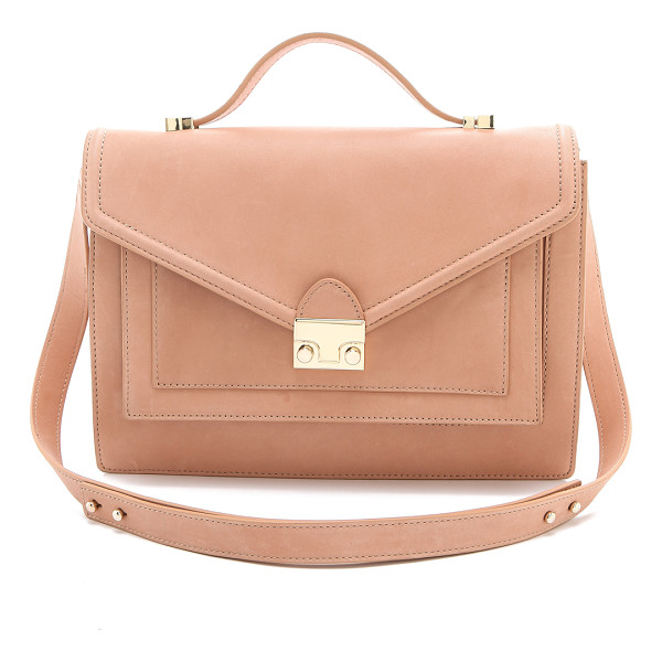 LOEFFLER RANDALL The rider bag - A classic satchel silhouette from Loeffler Randall. The