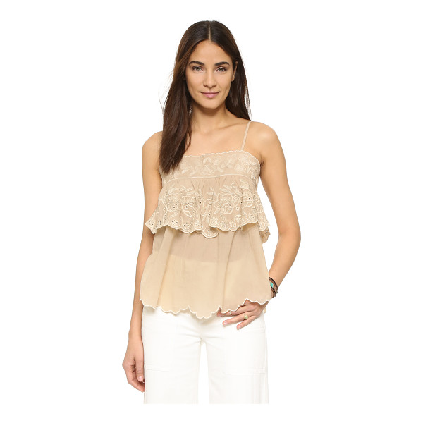 LOVE SAM Love Sam Seraphina Top - A shoulder baring Love Sam top with a draped fit....