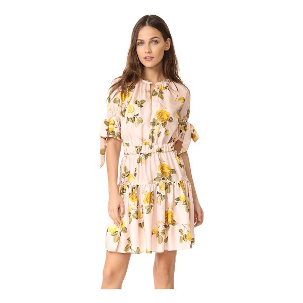 LOVER albertine mini dress - A pretty rose print complements the romantic feel of this...