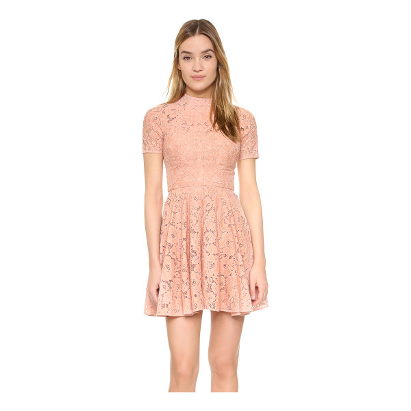 LOVER Oasis mini dress - A flared skirt lends a swingy touch to this romantic Lover...