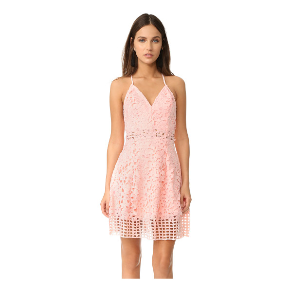 LOVERS + FRIENDS bellini dress - A romantic Lovers + Friends cocktail dress composed of...