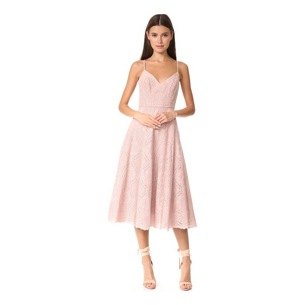 LOVESHACKFANCY molly dress - This fit-and-flare LOVESHACKFANCY dress is composed of soft...
