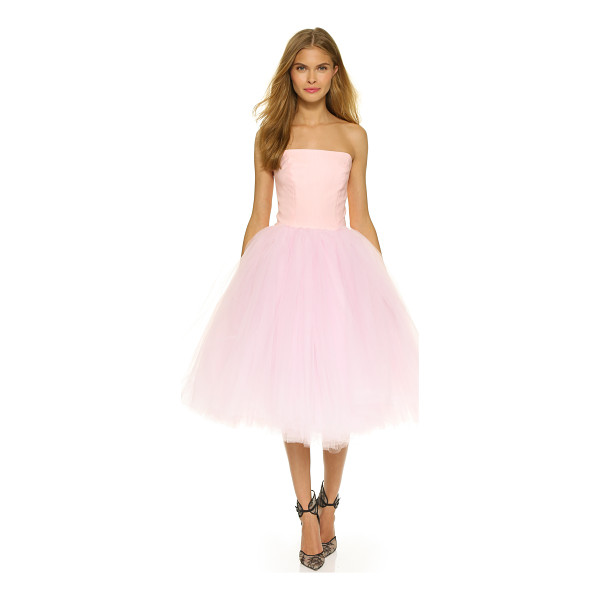 LOYD/FORD Strapless ballet dress - A ballet inspired Loyd/Ford dress with a slim, boned bodice...