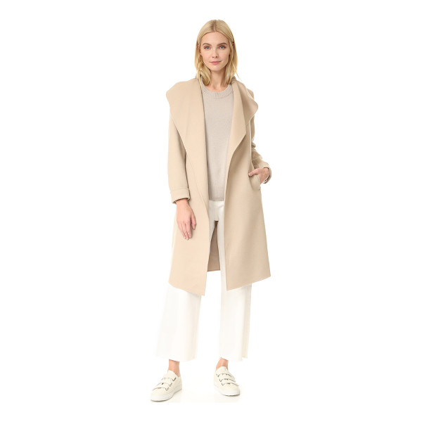 MACKAGE leora double face wool jacket - A sophisticated Mackage jacket with a draped placket....