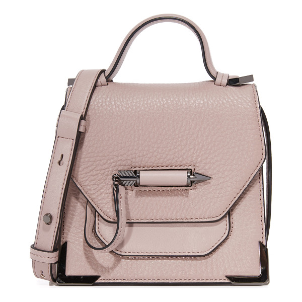 MACKAGE Mackage Rubie Cross Body Bag - This sculptural Mackage bag is accented with polished