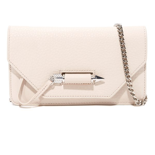 MACKAGE zoey mini cross body bag - A petite Mackage cross-body bag rendered in soft pebbled...