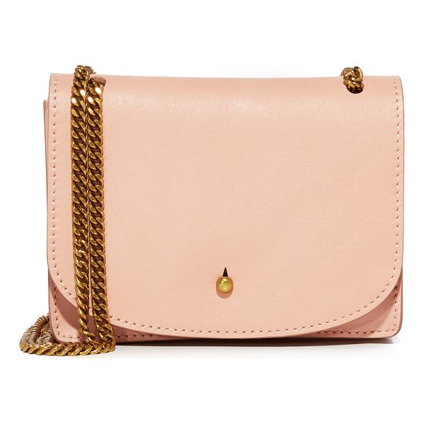 MADEWELL the chain cross body bag - A petite Madewell cross-body bag with a minimalist...