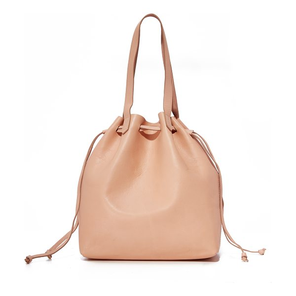 MADEWELL the drawstring transport tote - A classic Madewell transport tote updated with a drawstring...