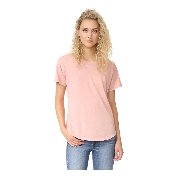 MADEWELL whisper cotton crew tee - A slim-fit Madewell tee in soft slubbed jersey. Crew...