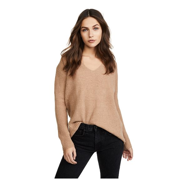 MADEWELL woodside pullover sweater - This soft, ribbed-knit Madewell sweater has wide banding...