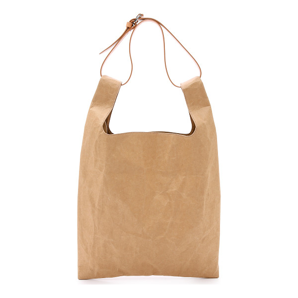 MAISON MARGIELA Cellulose tote bag - A modern Maison Margiela tote bag composed of sturdy,