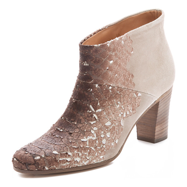 MAISON MARGIELA Paper snake booties - Exclusive to Shopbop. Maison Martin Margiela reworks its...