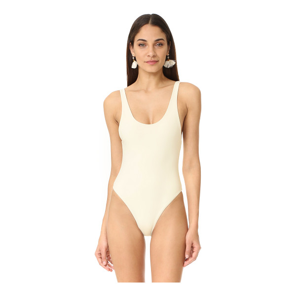 MARA HOFFMAN low back swimsuit - A simple Mara Hoffman one-piece swimsuit with a scoop back....
