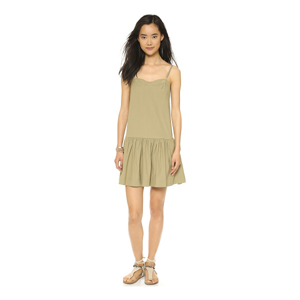 MARC BY MARC JACOBS Bra top dress - A sweetheart neckline and ruched, drop waist skirt give...