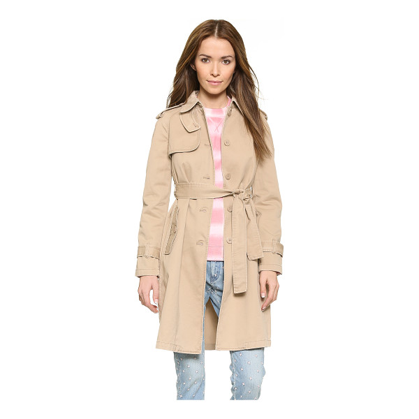 MARC BY MARC JACOBS Classic cotton trench - A timeless Marc by Marc Jacobs trench in durable twill....
