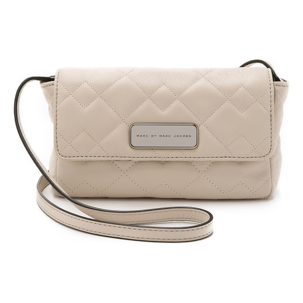 MARC BY MARC JACOBS Sophisticato crosby quilt julie bag - A tiny Marc by Marc Jacobs cross body bag in soft leather...
