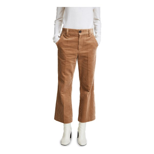 MARC JACOBS cropped pants - These wide-leg Marc Jacobs crop trousers are cut from thick...