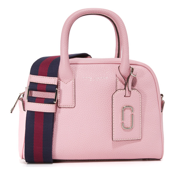 MARC JACOBS gotham small bauletto satchel - A small, boxy Marc Jacobs satchel in pebbled leather. The