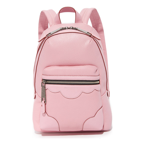MARC JACOBS Haze backpack - A pebbled leather Marc Jacobs backpack accented with