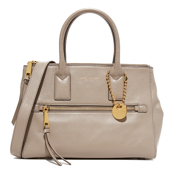 MARC JACOBS recruit east / west tote - An elegant Marc Jacobs handbag in soft, luxe leather. Slim...