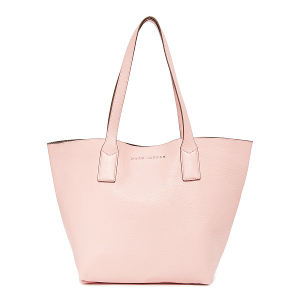 MARC JACOBS wingman tote - A roomy Marc Jacobs tote in pebbled leather. A spring-lock