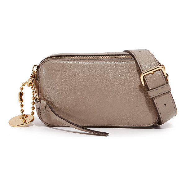 MARC JACOBS Recruit camera bag - A pebbled leather Marc Jacobs bag styled with a slim front