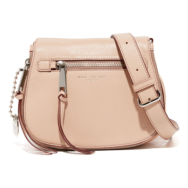 MARC JACOBS recruit small saddle bag - A scaled down Marc Jacobs saddle bag in pebbled leather....