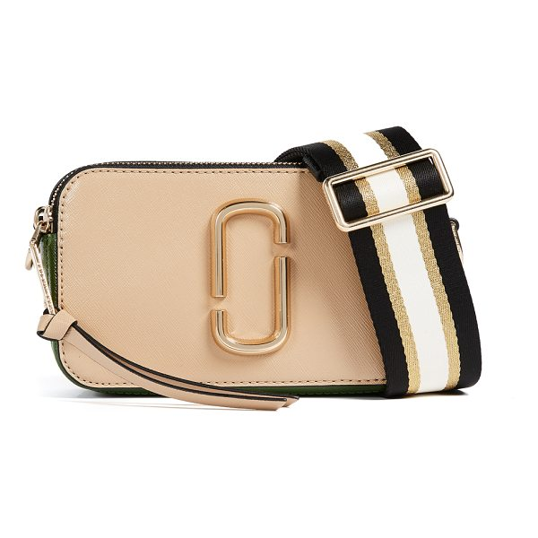 MARC JACOBS snapshot cross body bag - A boxy Marc Jacobs bag in colorblock, saffiano leather....