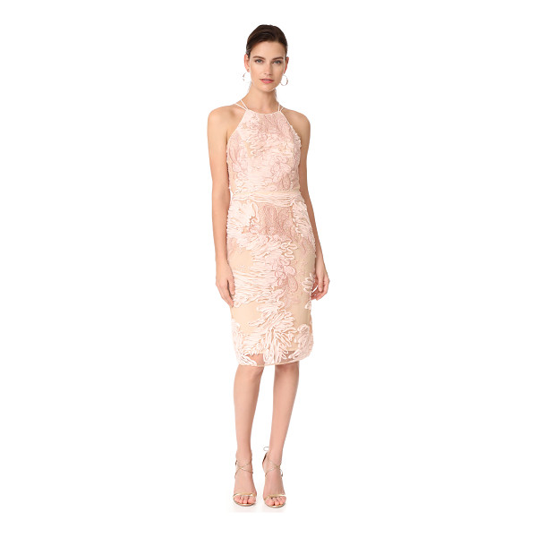 NOTTE BY MARCHESA cocktail dress - This elegant Marchesa Notte dress is embroidered with...