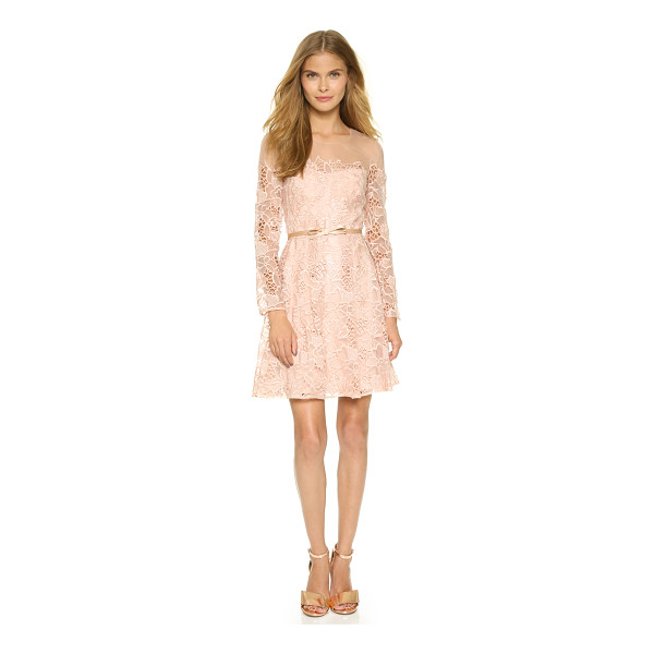 NOTTE BY MARCHESA Long sleeve cocktail dress - A charming Marchesa Notte dress makes a romantic impression...