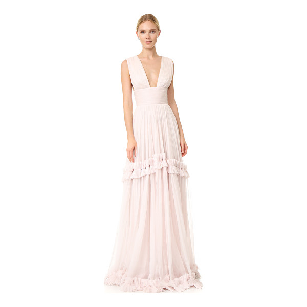 MARIA LUCIA HOHAN Maria Lucia Hohan Maxi Gown - A filmy, ethereal Maria Lucia Hohan gown made from delicate...