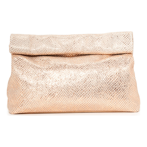 MARIE TURNOR ACCESSORIES lunch special clutch - This Marie Turnor Accessories clutch imitates a paper bag