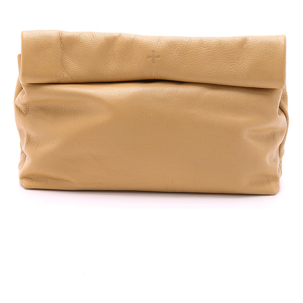 MARIE TURNOR the lunch clutch - This leather Marie Turnor Accessories clutch imitates a