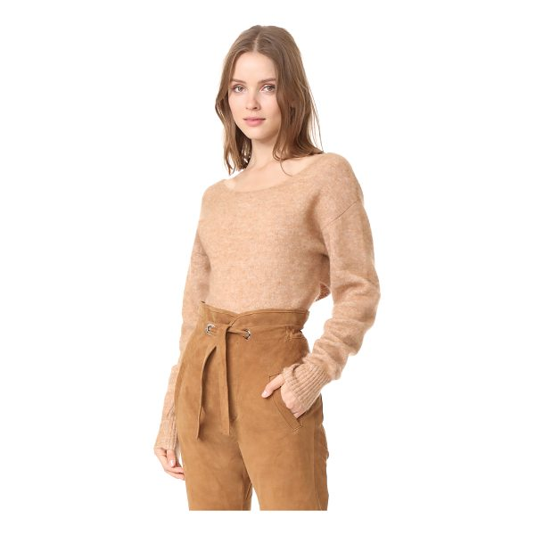 MARISSA WEBB eliza sweater - A brushed finish complements the luxurious feel of this...