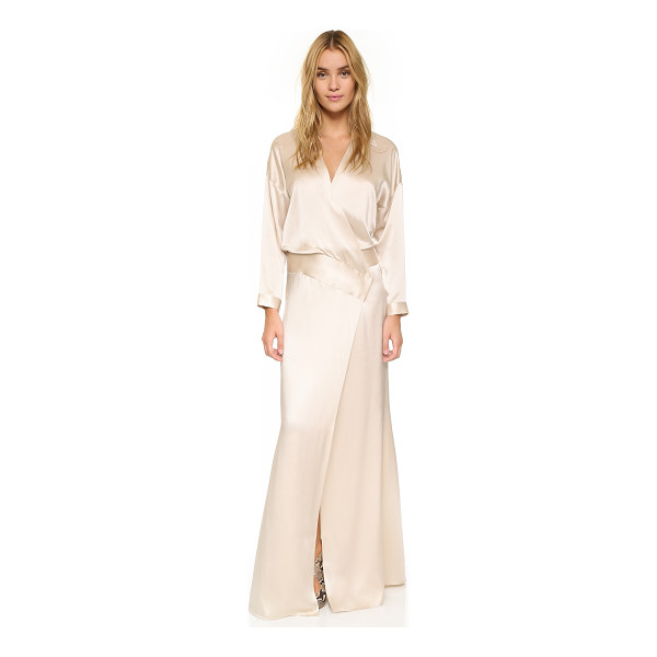 MASON BY MICHELLE MASON Oversized wrap gown - An exaggerated Mason by Michelle Mason wrap gown composed...