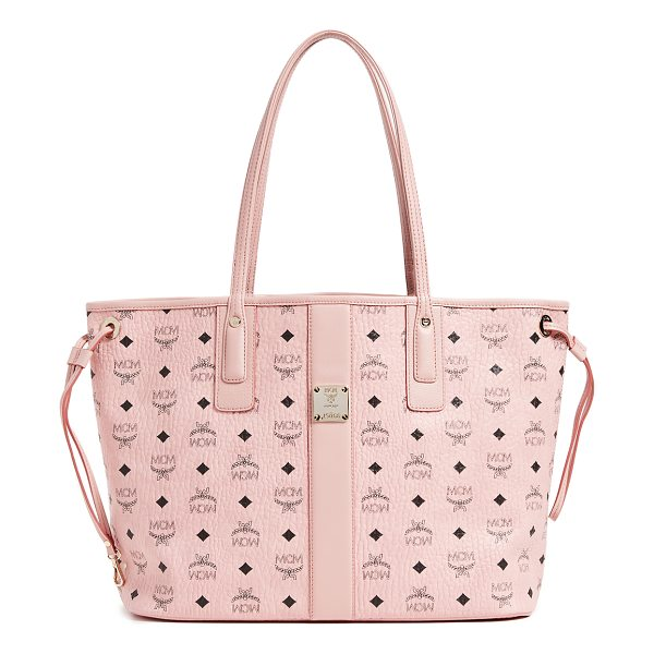 MCM liz shopper tote - A large, reversible MCM tote with a monogrammed leather...