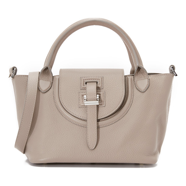 MELI MELO Classic mini thela halo bag - A scaled down signature meli melo handbag with polished